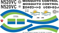 N520VC - MD 520N - Mosquito Control - Decal 170
