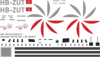 HB-ZUT - AS 350 - Swiss Jet - Decal 128