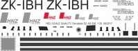 ZK-IBH - AS 350 - Neuseeland - Decal 52