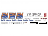 YV-894CP - Bell 206 - Traffic Center - Decal 39