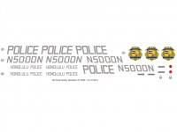 N5000N - MD 500D - Honolulu Police - Decal 35